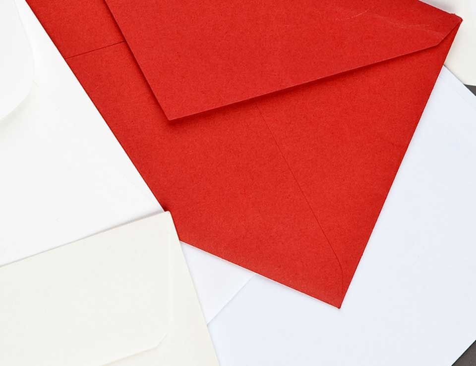 Colour Inspiration - What does a red envelope say about you or your brand?
