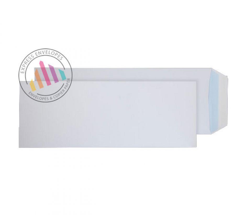 White Commercial Envelopes Peel & Seal Pocket 381 x 152mm