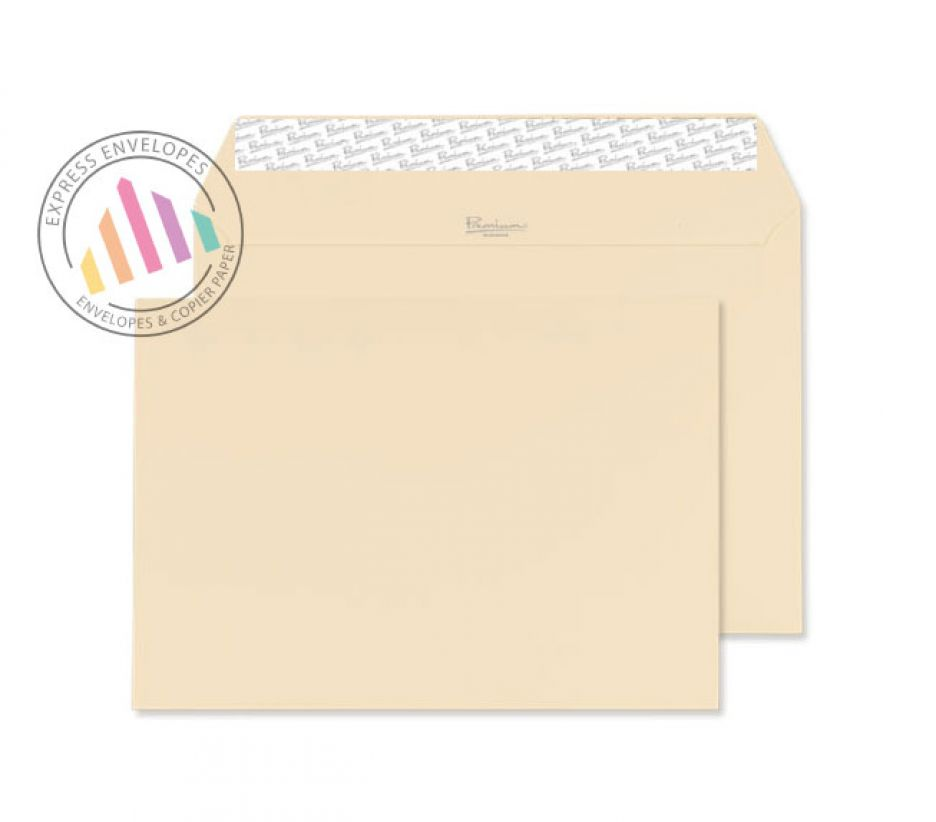 Cream wove wallet c5 162 229mm for Window envelopes
