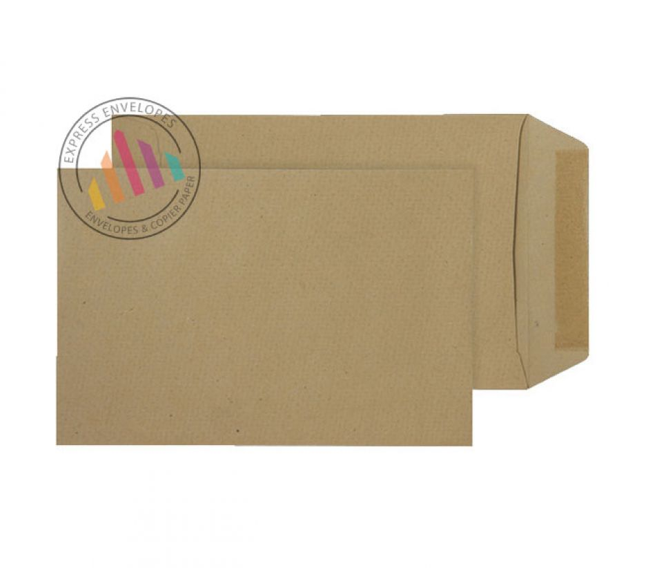 190x127mm -  Manilla Commercial Envelopes - 115gsm - Non Window - Gummed