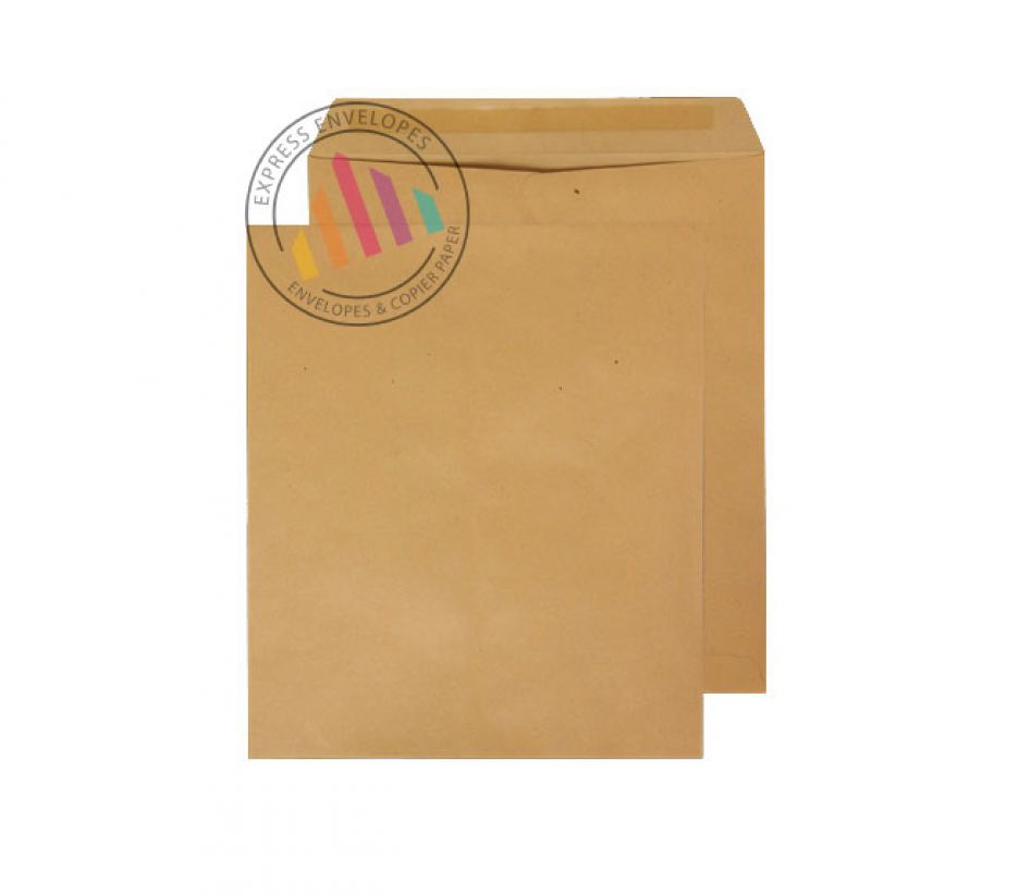 330 x 279 - Manilla Commercial Envelopes - 115gsm - Non Window - Gummed