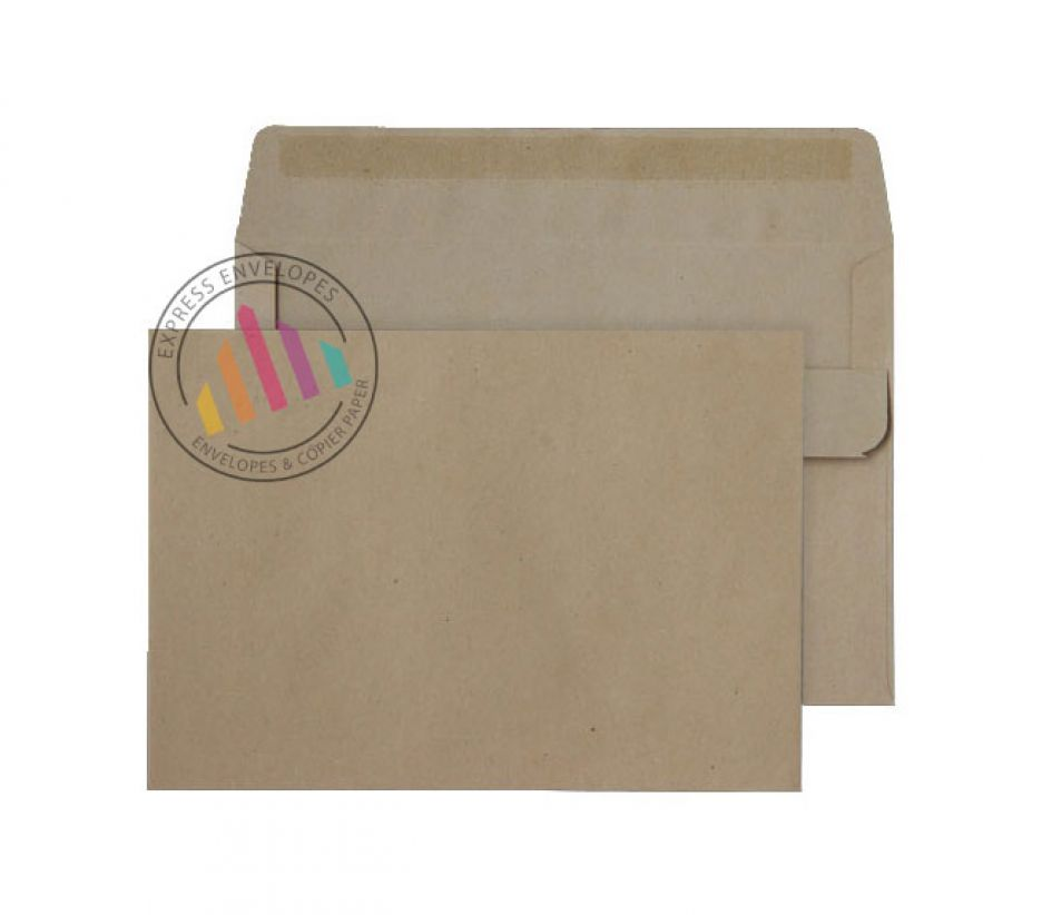 C6 - Manilla Mailing Envelopes - 80gsm - Non Window - Self Seal