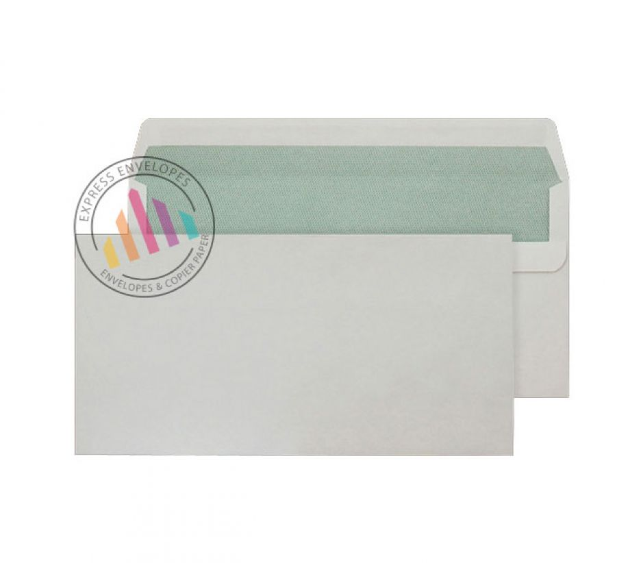 Recycled DL - White Envelopes - 90gsm - Non Window - Self Seal