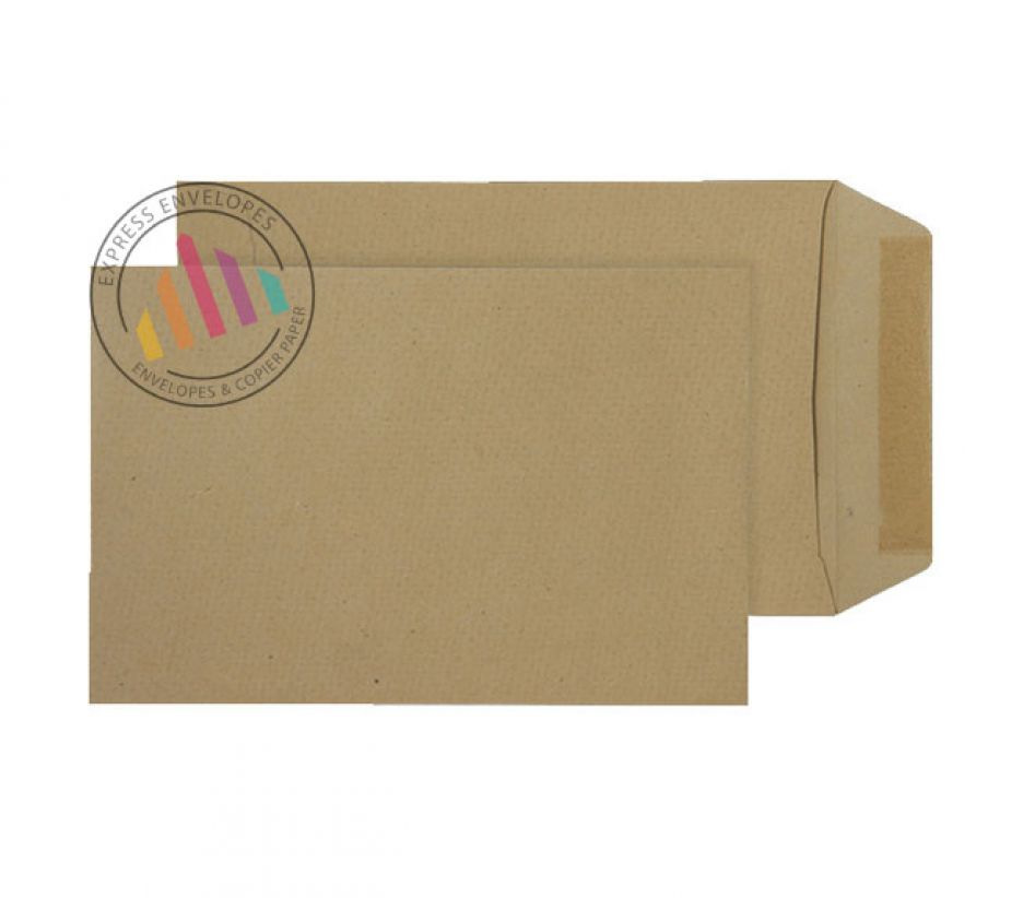 254 x 178 -  Manilla Commercial Envelopes - 90gsm - Non Window - Gummed