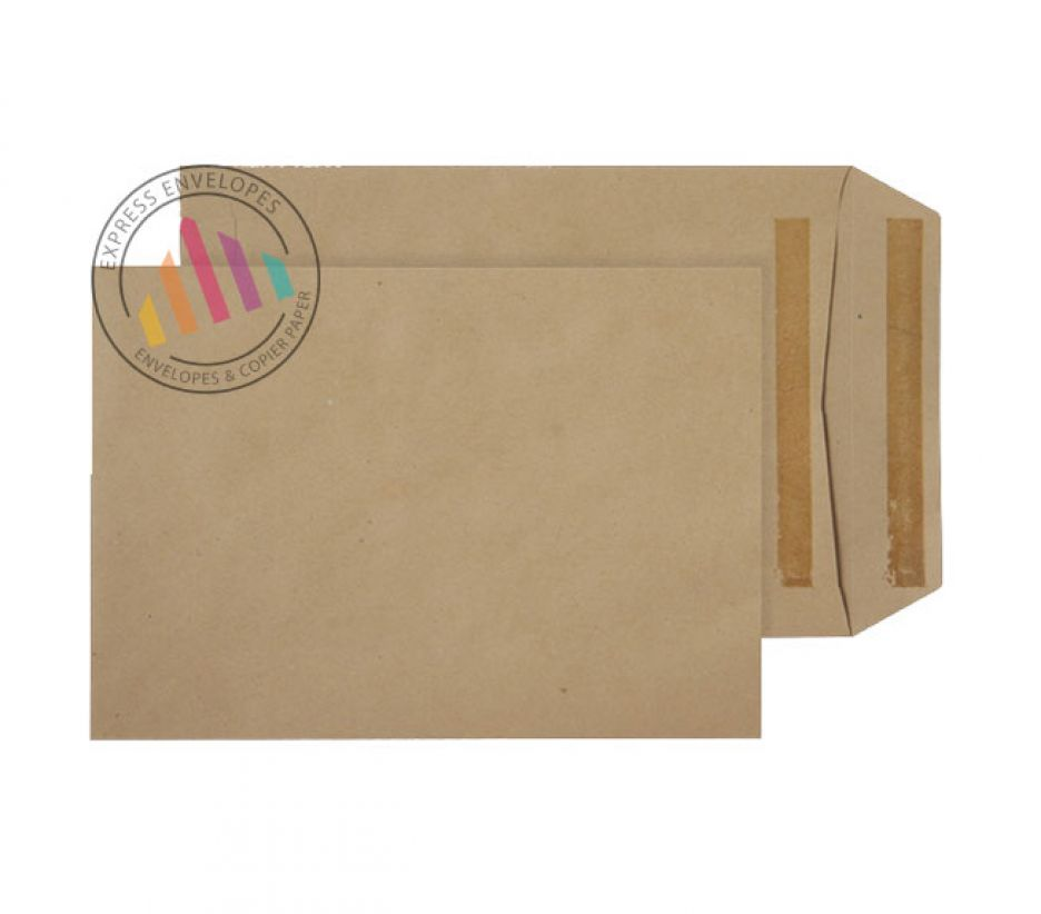 C5+  - Manilla Commercial  Envelopes - 90gsm - Non Window - Self Seal