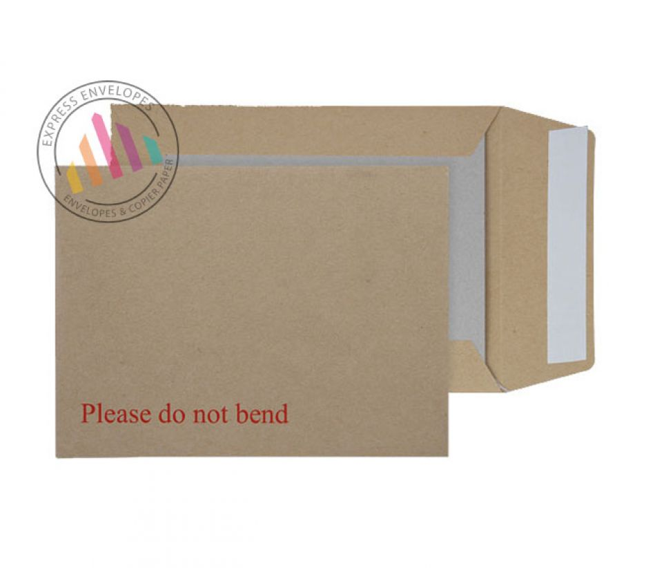 190 x 140mm - Manilla Board Back - 115gsm - Non Window - Peel & Seal