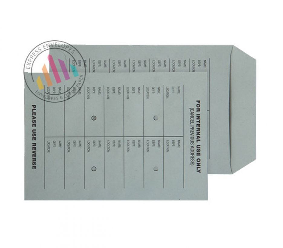 C5 - Green Manilla Internal Mail Envelopes - 120gsm - Non Window - Ungummed