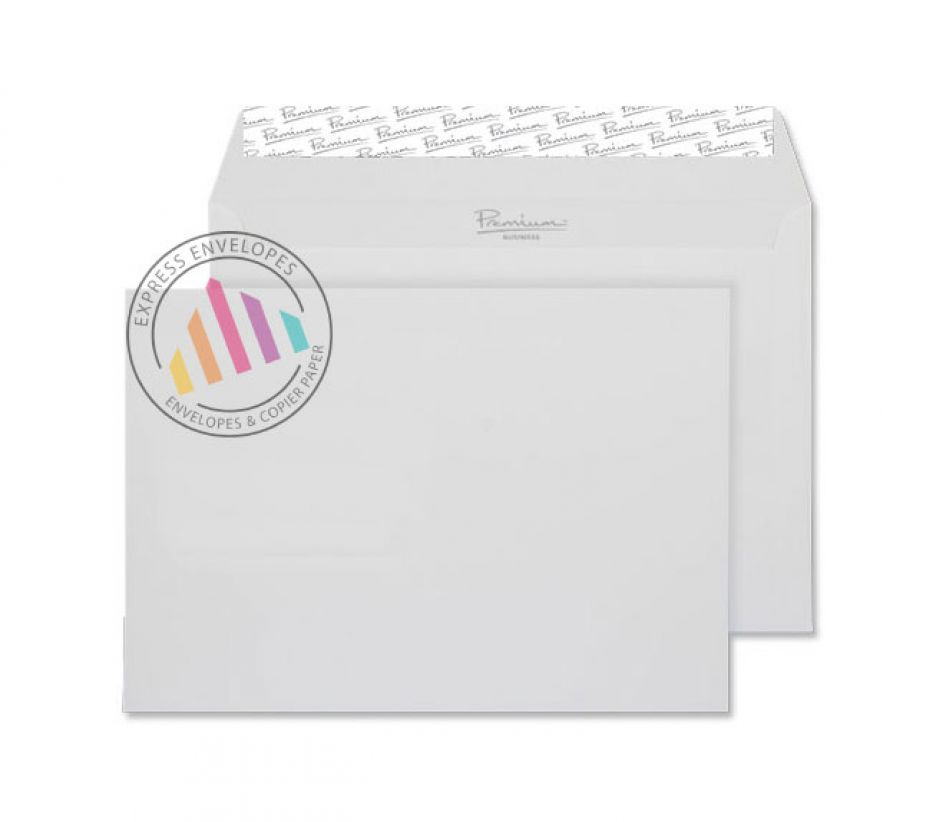 C5 - Smooth Diamond White Envelopes - 120gsm - Non Window - Peel and Seal