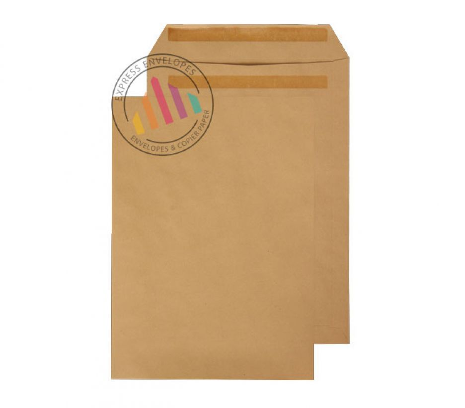 352 x 229mm -  Manilla Commercial Envelopes - 115gsm - Non Window - Self Seal