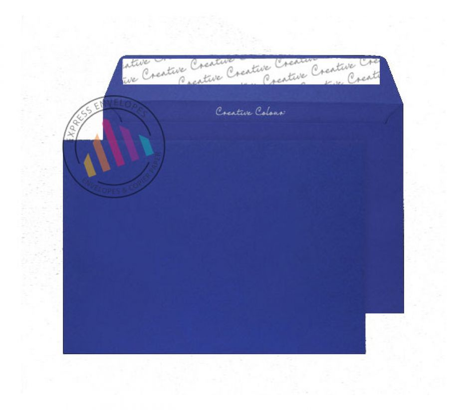 C5 - Victory Blue Envelopes - 120gsm - Non Window - Peel & Seal