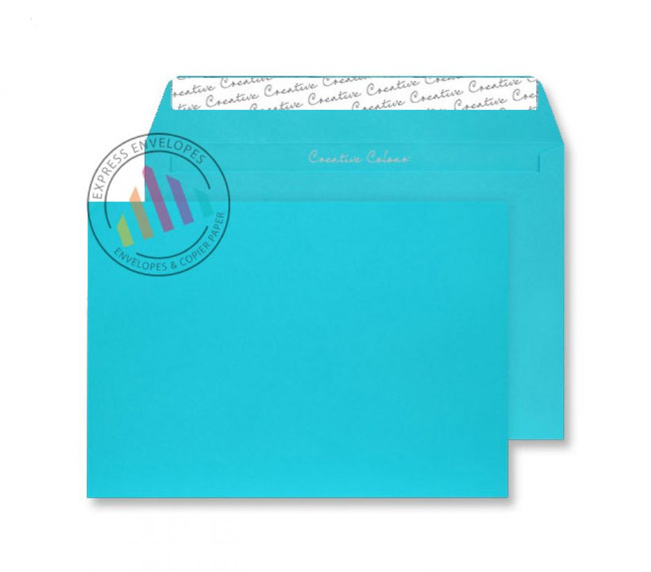 C5 - Cocktail Blue Envelopes - 120gsm - Non Window - Peel & Seal