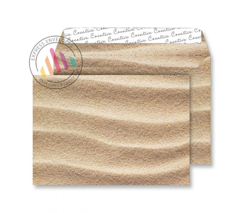 C5 - Sahara Sand Envelopes - 135gsm - Non Window - Peel & Seal