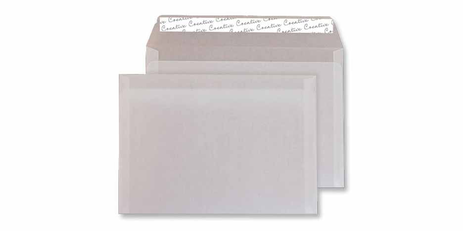C5 - White Tear Resistant Translucent Envelopes - 90gsm - Non Window - Peel & Seal