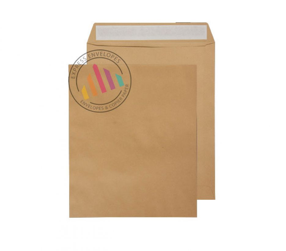 305 x 250mm - Manilla Commercial Envelopes - 115gsm - Non Window - Peel and Seal