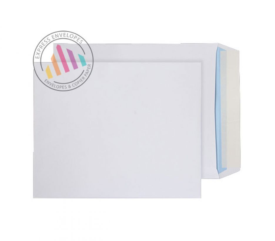 305 x 250mm - White Commercial Envelopes - 100gsm - Non Window - Peel and Seal