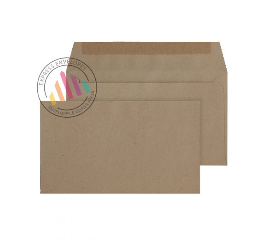 89 x 152 -  Manilla  Commercial Envelopes - 70gsm - Non Window - Gummed