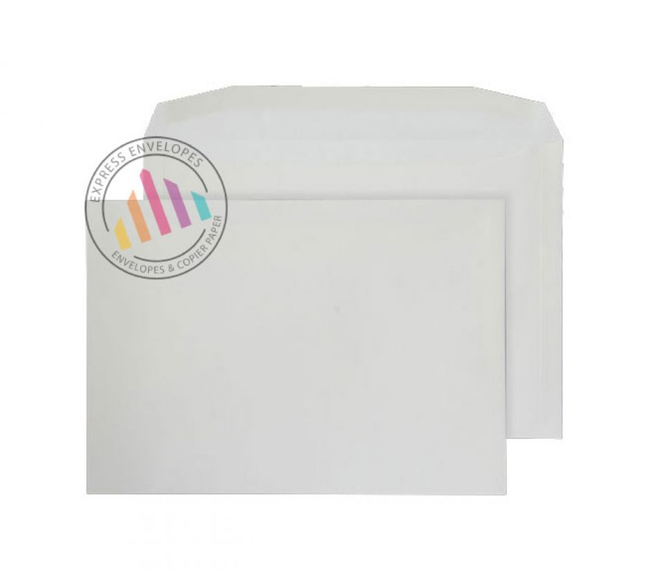 C4 - Cream Mailing  Envelopes - 100gsm - Non Window - Gummed