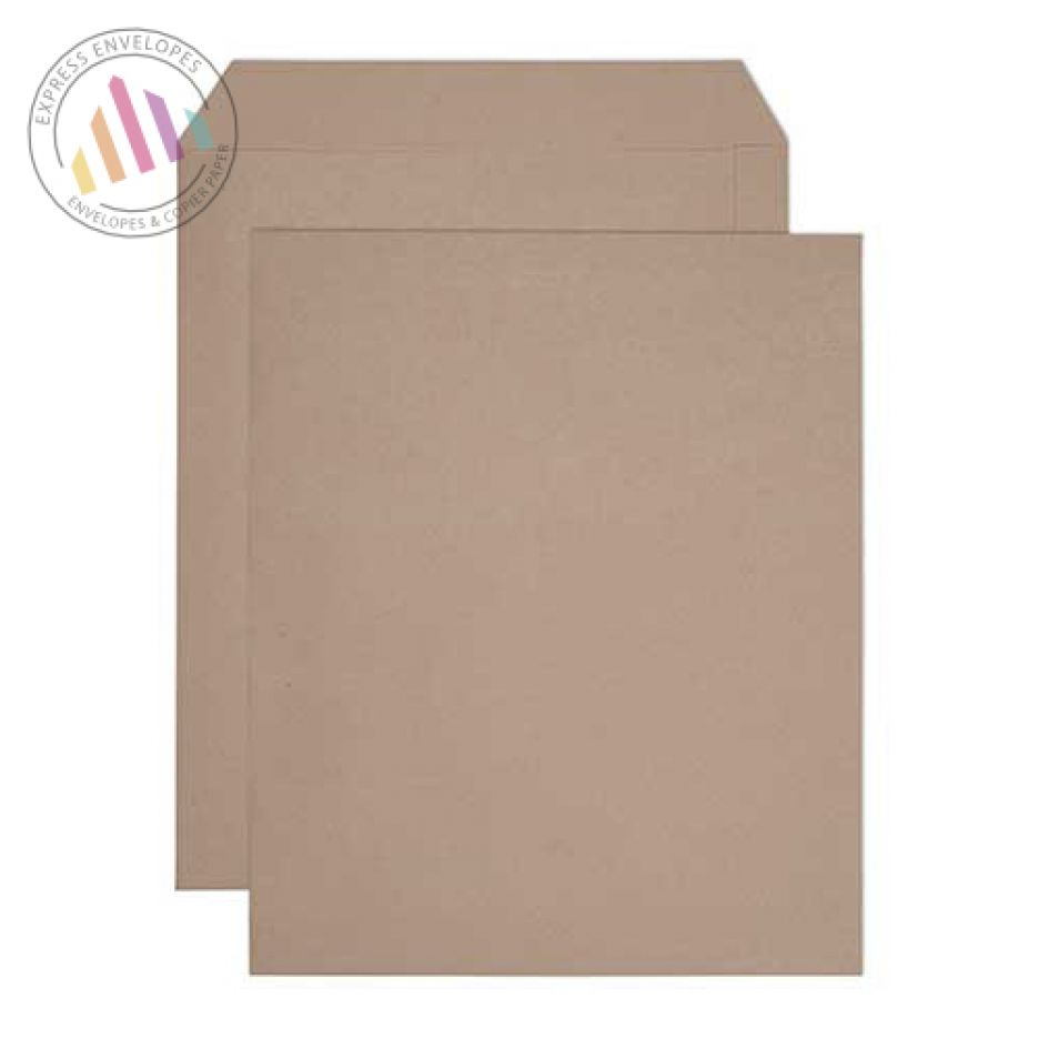 444x368mm - Manilla Commercial Envelopes - 180gsm - Non Window - Ungummed