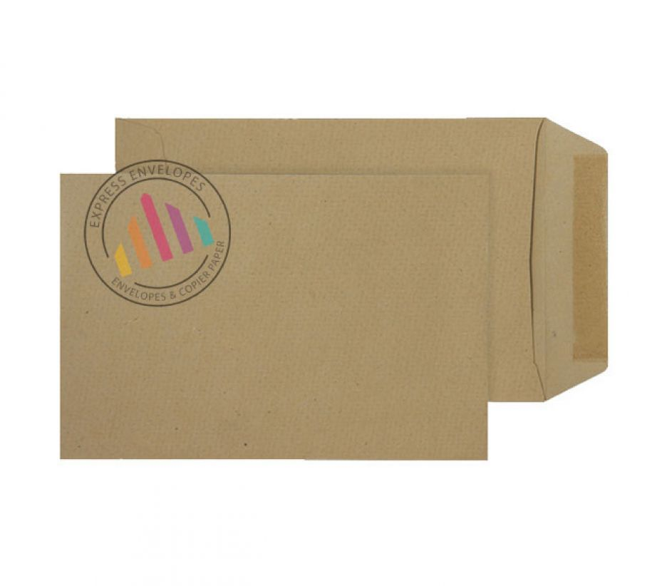 C5 - Manilla Commercial Envelopes - 80gsm - Non Window - Gummed