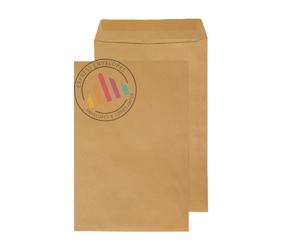 406X305mm - Manilla Commercial Envelopes - 115gsm - Non Window - Gummed