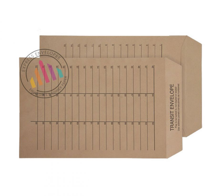 C4 - Internal Mail Envelopes - 90gsm - Non Window - Ungummed