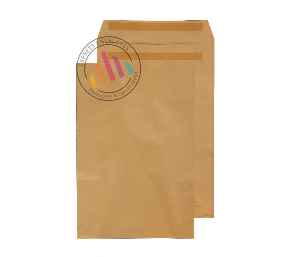 406 x 305mm - Manilla Commercial  Envelopes - 115gsm - Non Window - Self Seal