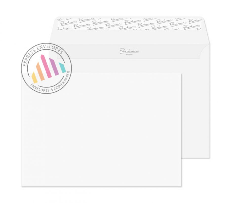 C5 - Ice White Wove Envelopes - 120gm - Non Window - Peel and Seal