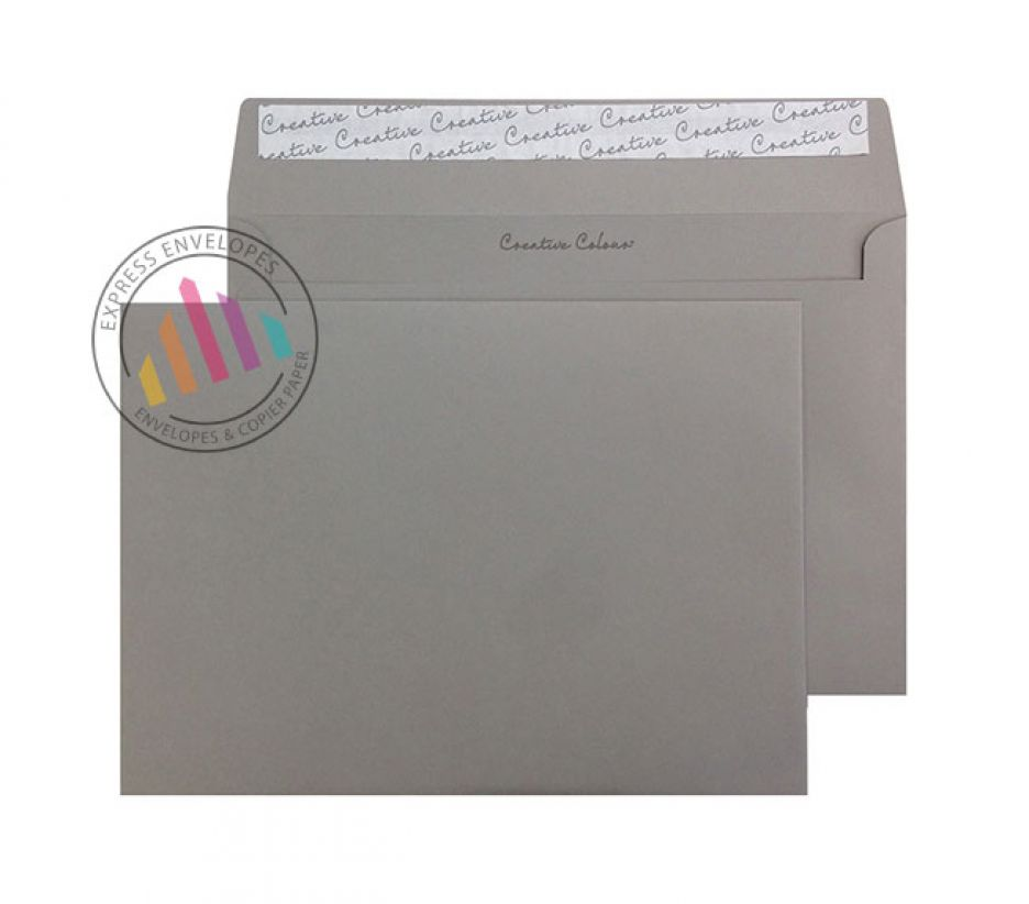 C5  - Storm Grey Envelopes - 120gsm - Non Window - Peel and Seal