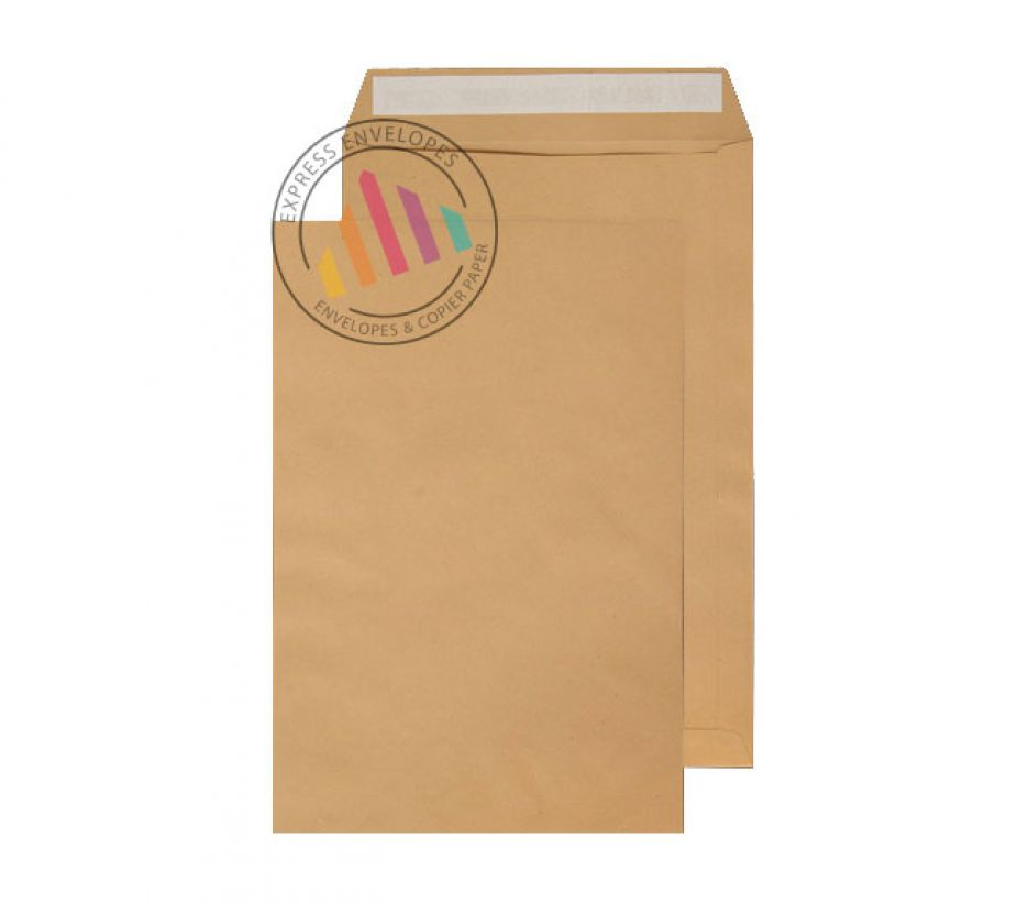 C3 -  Manilla Commercial Envelopes - 115gsm - Non Window - Peel & Seal
