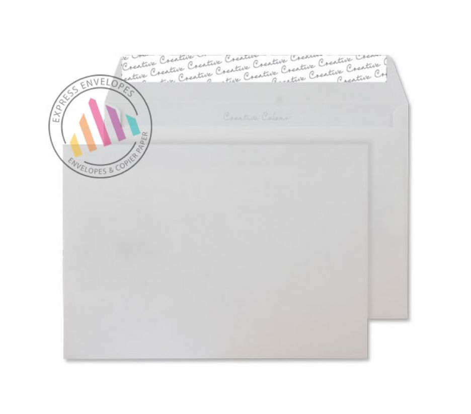 C5 - Ice White Envelopes - 120gsm - Non Window - Peel and Seal