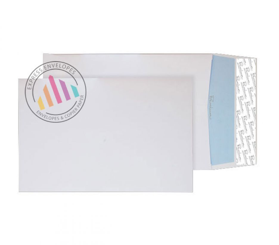 C5 - Ultra White Wove Gusset Envelopes - 140gsm - Non Window - Peel and Seal