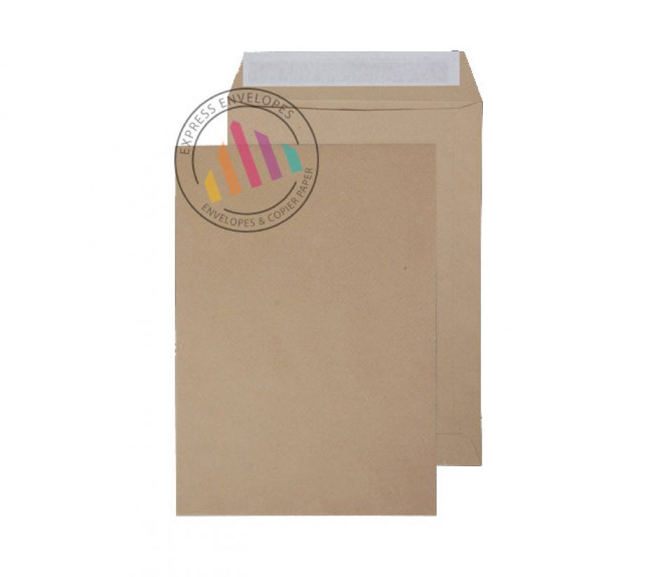 270x216mm - Manilla Commercial  Envelopes - 120gsm - Non Window - Peel & Seal