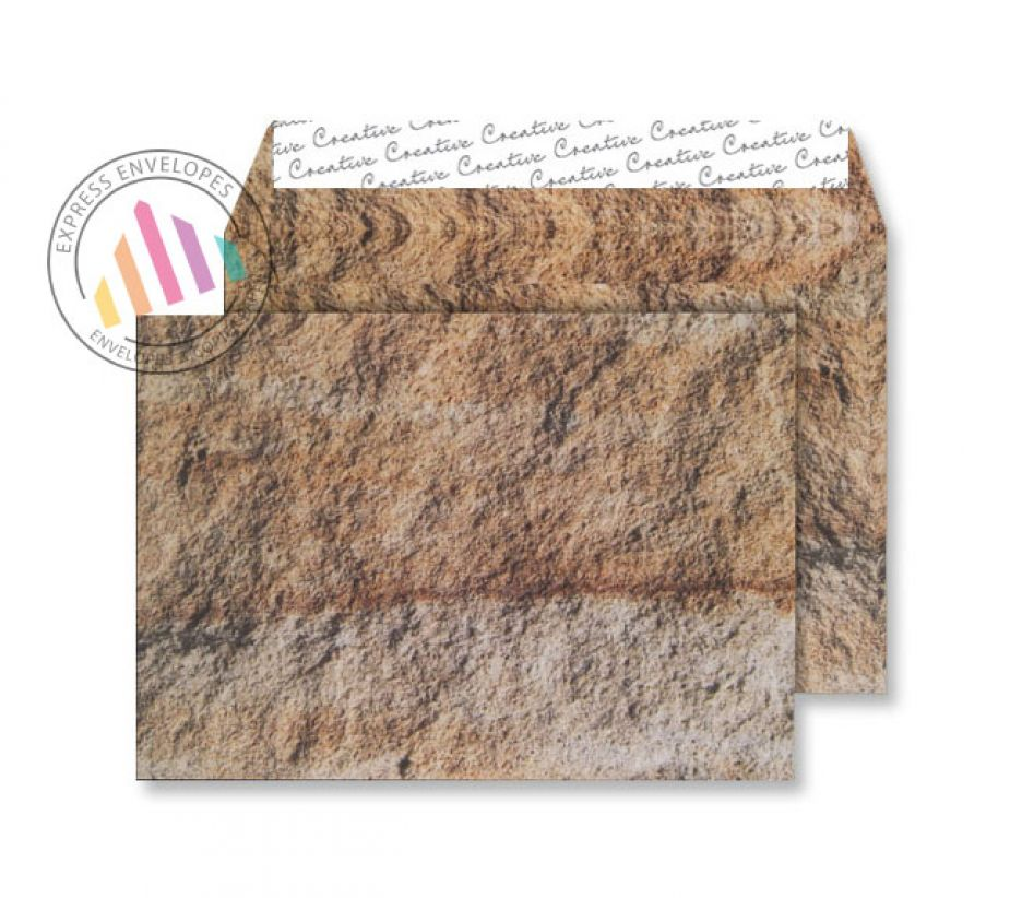 C5 - Jurassic Limestone Envelopes - 135gsm - Non Window - Peel and Seal