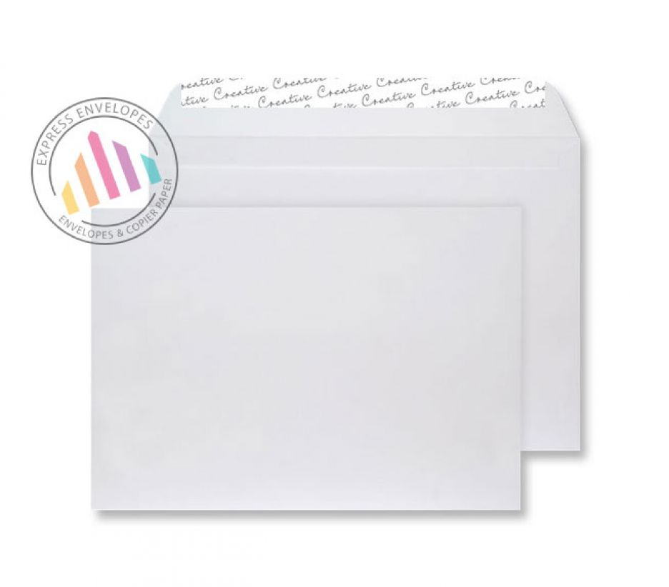 C5 - White Velvet Envelopes - 140gsm - Non Window - Peel and Seal