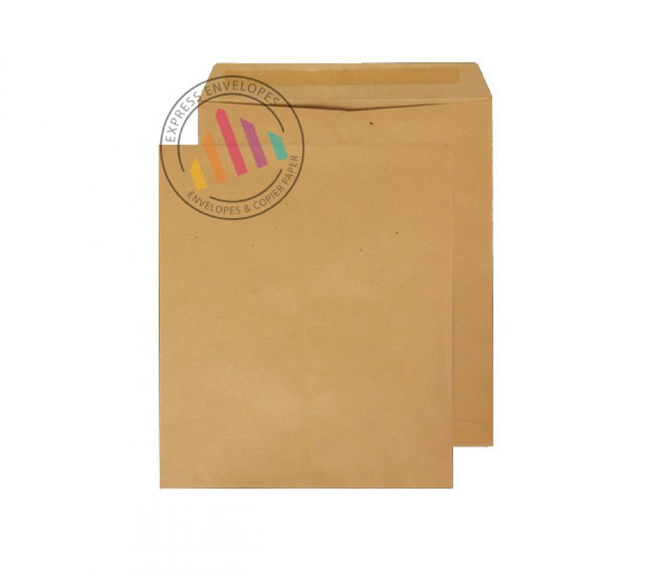 330 x 279 - Manilla Commercial Envelopes - 90gsm - Non Window - Gummed