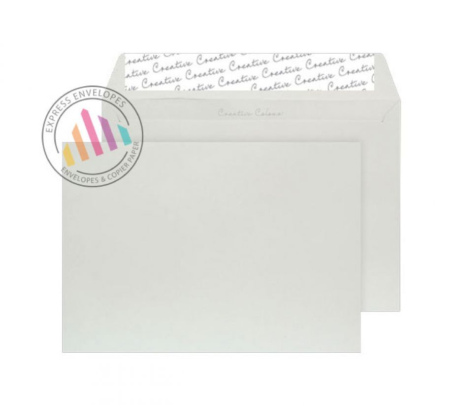 C5 - French Grey Envelopes - 120gsm - Non Window - Peel and Seal