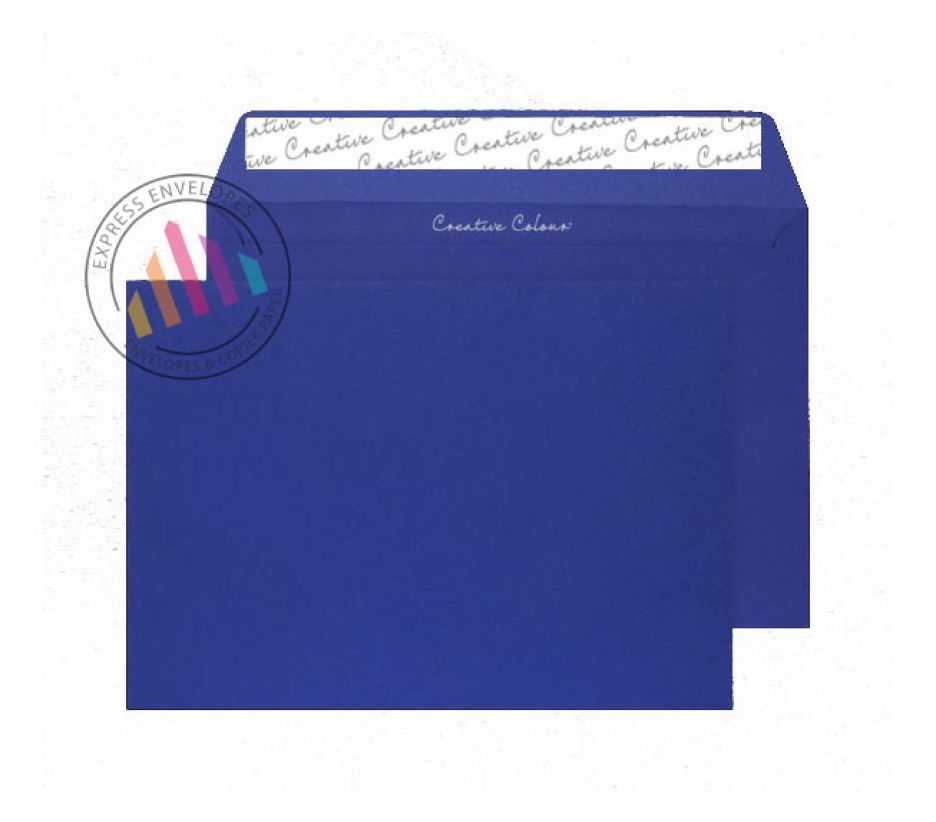 C5 - Victory Blue Envelopes - 120gsm - Non Window - Peal and Seal