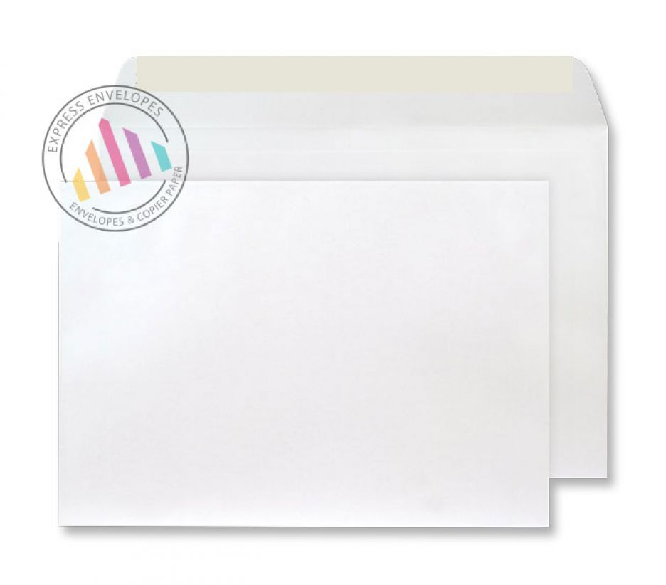 C5 - Frosted White Envelopes - 120gsm - Non Window - Peel and Seal