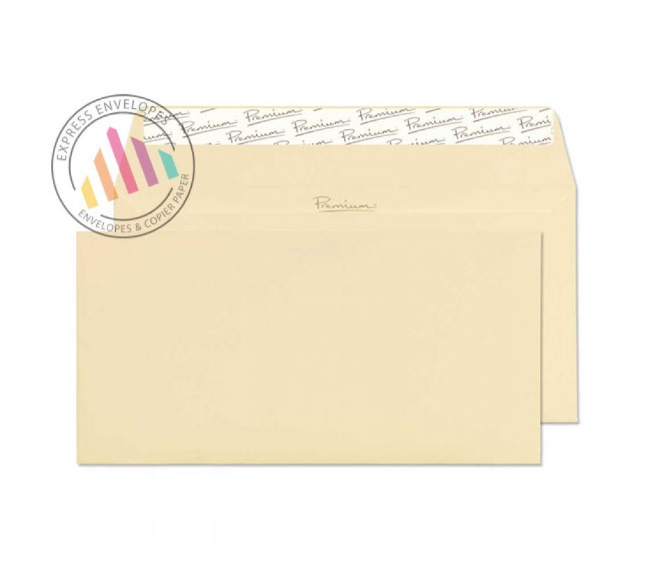DL - Vellum Wove Wallet Envelopes - 120gsm - Non Window - Peel and Seal