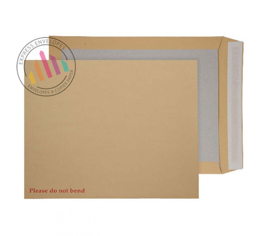 C3+ - Manilla Board Back Envelopes - 120gsm - Non Window - Peel and Seal