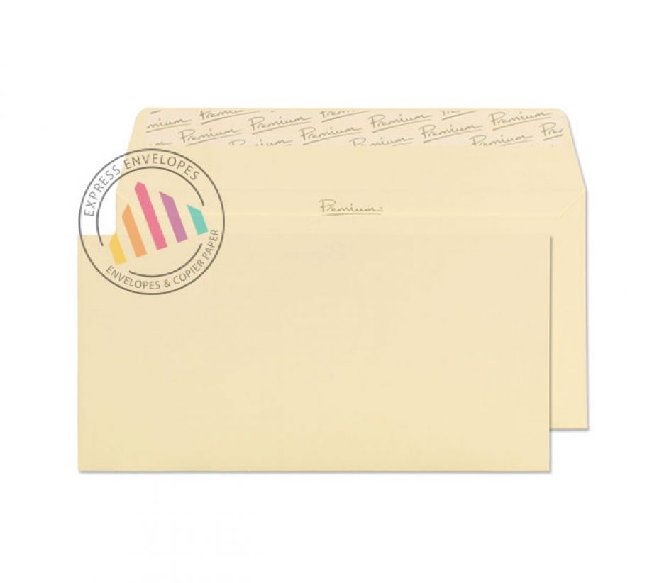 DL - Vellum Laid Envelopes - 120gsm - Non Window - Peel and Seal