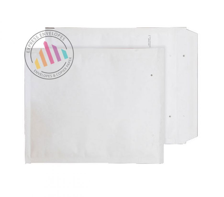 165×180mm - White Padded Bubble Envelopes - Peel and Seal