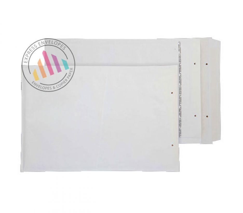 340×230mm - White Padded Bubble Envelopes - Peel and Seal