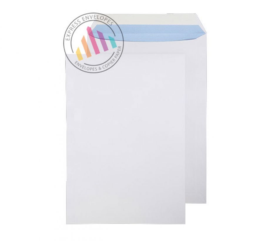 340 x 240mm - Ultra White Commercial Envelopes - 120gsm - Non Window - Peel & Seal