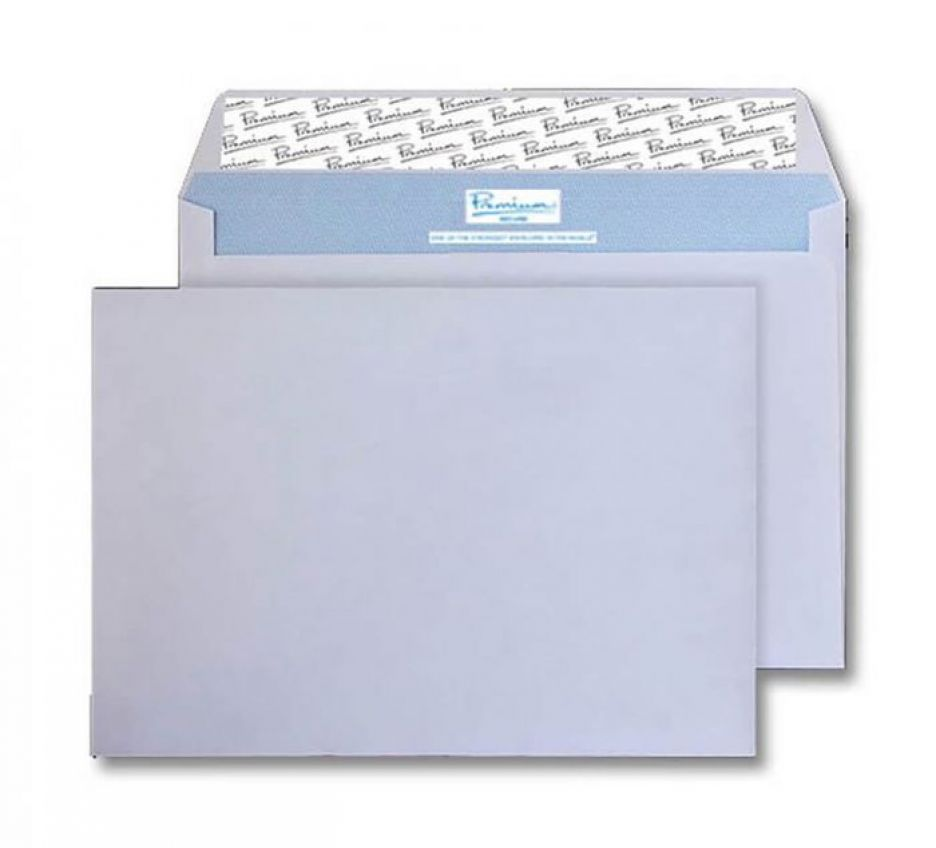 C5 - White Tear Resistant Envelopes - 125gsm - Non Window - Peel and Seal