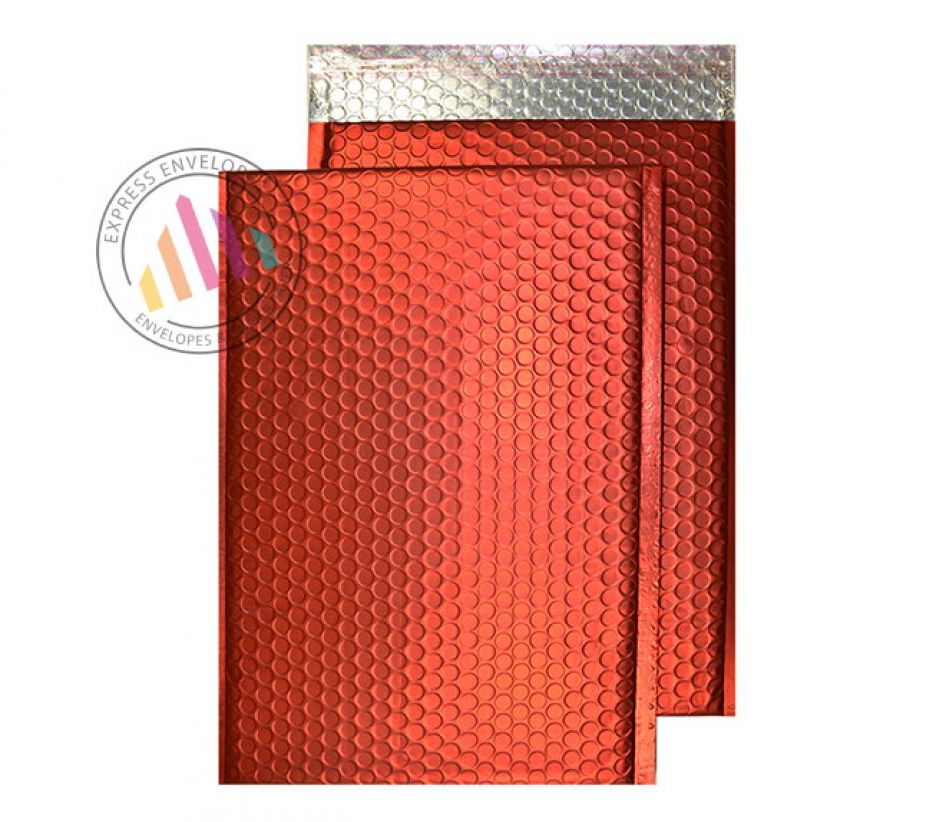 C5+ - Chilli Haze Padded Bubble Envelopes - Peel and Seal