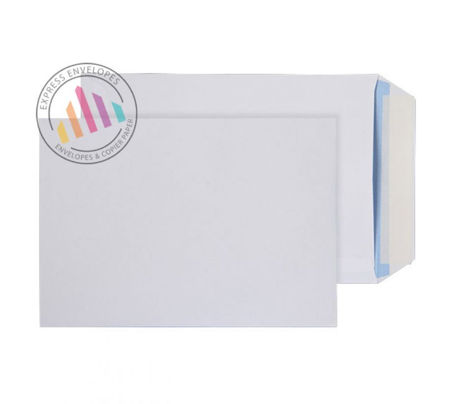 305 x 250 - White Commercial Envelopes - 100gsm - Non Window - Peel and Seal