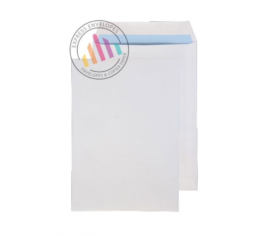 270x216mm - White Commercial  Envelopes - 100gsm - Non Window - Self Seal