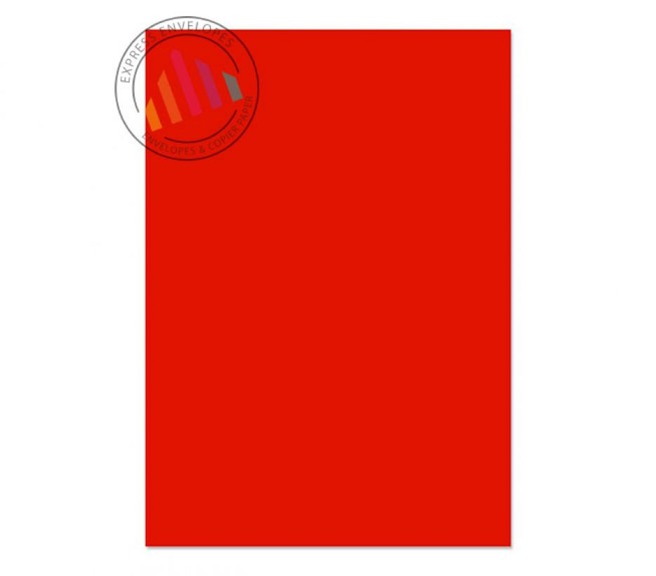 A4 - Creative Colour Pillar Box Red Paper - 120gsm