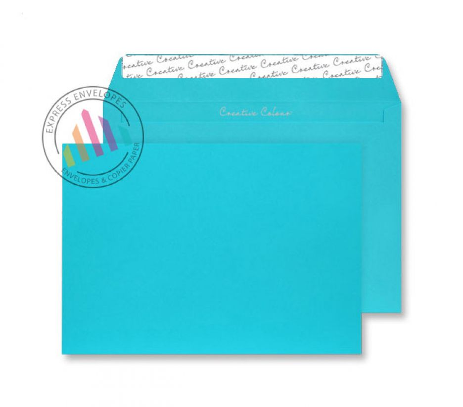 C5 - Cocktail Blue Envelopes - 120gsm - Non Window - Peel and Seal